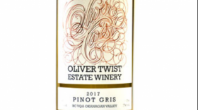 Oliver Twist Estate Winery 2017 Pinot Gris (Grigio) | White Wine