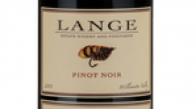 Lange Estate Winery and Vineyards Freedom Hill Vineyard 2012 Pinot Noir Label
