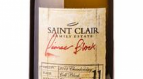 Saint Clair Family Estate Pioneer Block 11 Cell Block Chardonnay 2016 Label