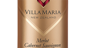 Villa Maria Cellar Selection 2012 Hawkes Bay Merlot-Cabernet Sauvignon Label