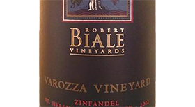 Varozza Vineyard Zin Label