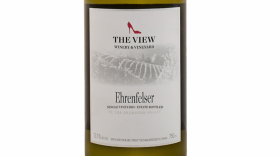 The View Winery 2017 Ehrenfelser Label