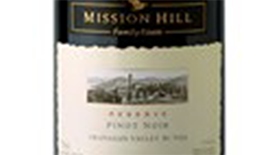Mission Hill Reserve 2012 Pinot Noir Label