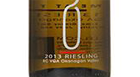 50th Parallel Estate 2013 Riesling Label