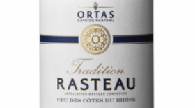 Ortas Tradition AOP Rasteau Rouge Label