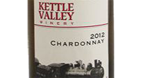 Kettle Valley Winery 2012 Chardonnay Label
