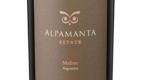 Alpamanta Estate 2010 Malbec Label