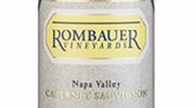 Rombauer Vineyards 2012 Cabernet Sauvignon Label