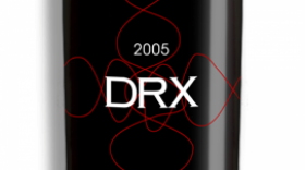 Deerfield Ranch Winery 2005 DRX Label