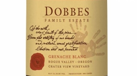 Dobbes Family Estate Grenache Blanc 2013 Label