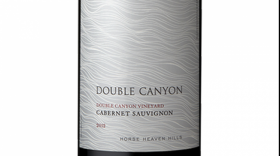 Double Canyon 2012 Cabernet Sauvignon Label