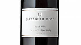Elizabeth Rose 2012 Pinot Noir Label