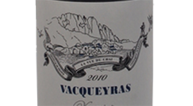 Xavier Vacqueyras 2010 | Red Wine
