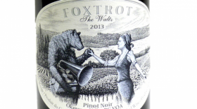 Foxtrot Vineyards 2015 The Waltz Pinot Noir Label