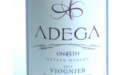 Adega on 45th Estate Winery 2012 Viognier Label