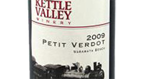 Kettle Valley Winery 2009 Petit Verdot Label