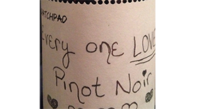 Scratchpad Cellars 2011 Pinot Noir Label