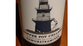 Coffee Pot Cellars 2012 Gewürztraminer Label