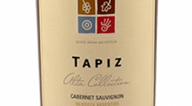 Tapiz Alta Collection 2014 Cabernet Sauvignon Label