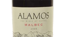Alamos 2011 Malbec Label