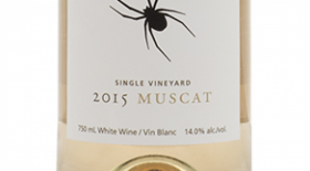 Black Widow Winery 	 2016 Muscat Ottonel, Single Vineyard | White Wine