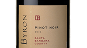Byron Winery 2012 Pinot Noir Label