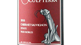 Sculpterra Winery & Sculpture Garden 2010 Cabernet Sauvignon Label