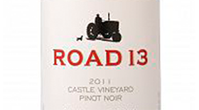 Castle Vineyard Pinot Noir Label
