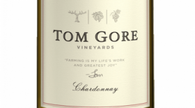 Tom Gore Vineyards Chardonnay Label