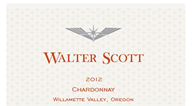 Walter Scott 2013 Chardonnay Label