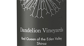 Dandelion Vineyards Red Queen of the Eden Valley 2012 Shiraz Label