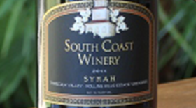 Syrah Rolling Hills Estate Label