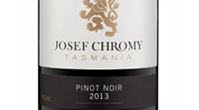 Josef Chromy 2013 Pinot Noir Label