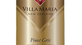 Villa Maria Cellar Selection 2013 Marlborough Pinot Gris Label