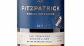 Fitzpatrick Family Vineyards 2017 The Unwinder Ehrenfelser Label