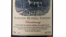 Hamilton Russell Vineyards 2014 Chardonnay Label