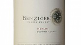 Benziger Family Winery 2012 Merlot Label