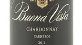 Buena Vista Winery 2011 Chardonnay Label