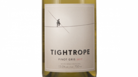 Tightrope Winery 2017 Pinot Gris (Grigio) Label