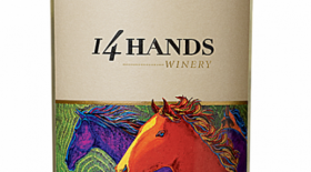 14 Hands Winery 2015 Sauvignon Blanc Washington State Label