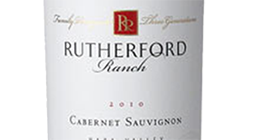 Rutherford Ranch 2010 Cabernet Sauvignon Label
