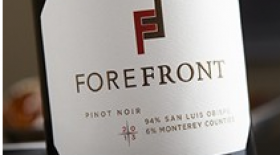 ForeFront Winery 2012 Pinot Noir Label