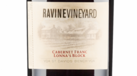 Ravine Vineyard Estate Winery 2015 Lonna's Block Cabernet Franc | Red Wine