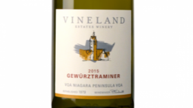 Vineland Estates Winery 2015 Gewürztraminer | White Wine