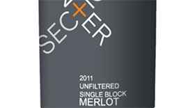 Unfiltered Merlot Label