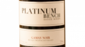 Platinum Bench Estate Winery & Artisan Bread Co. 2015 Gamay Noir | Red Wine