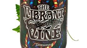 The Vibrant Vine 2011 Chardonnay Label