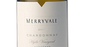Merryvale 2009 Chardonnay Label