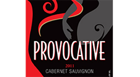 Provocative Cabernet Sauvignon Label