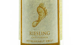 Barefoot Wine 2012 Riesling Label